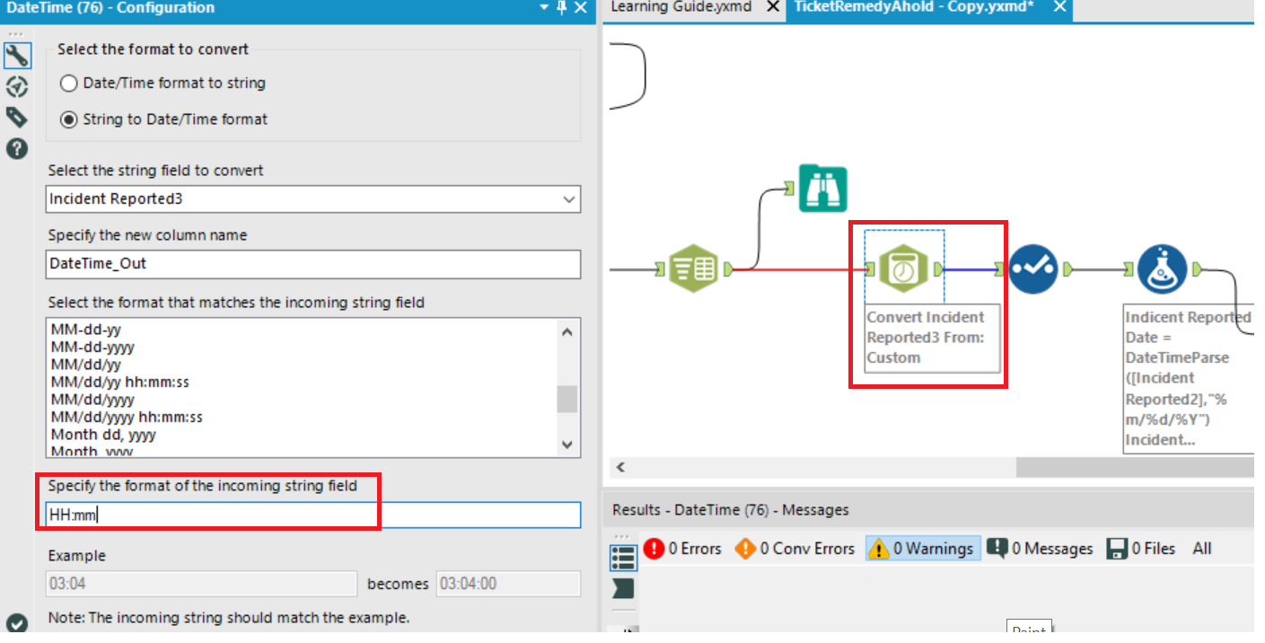 Parse Date Time Tool -- can it specify AM/PM ? - Alteryx Community