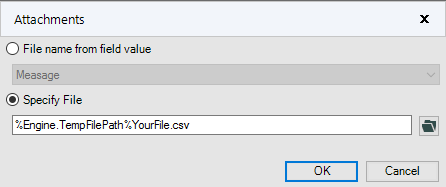 Solved: How to send an email with a csv attached - Alteryx