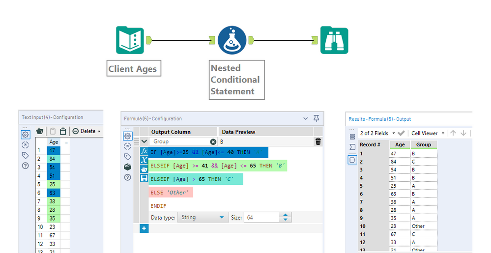 Using Conditional Statements to Change your Data - Alteryx
