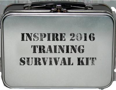 Inspire 2016 Training Survival Kit