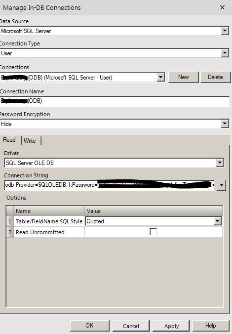 How server assigns user to specific connection - Alteryx