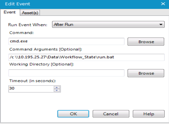 I just wanted to execute a bat file I wrote - Alteryx Community