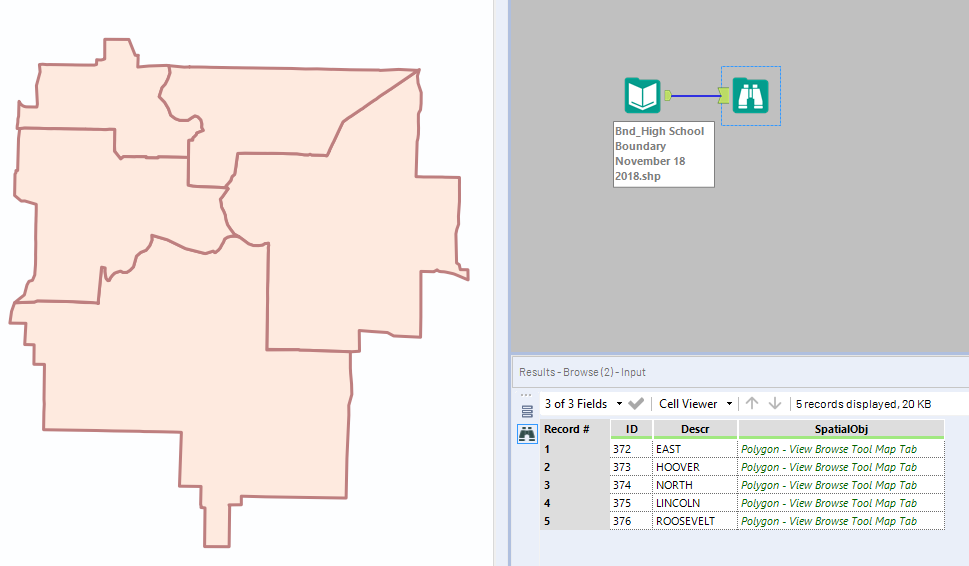 Solved: New to Shape Files - Alteryx Community