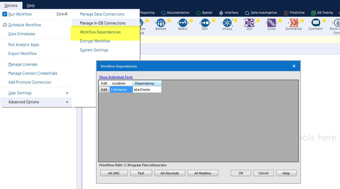 Solved: Cannot Modify Connection String - Alteryx Community
