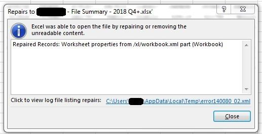 Solved: Output to Excel error - Page 2 - Alteryx Community