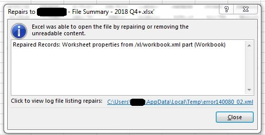 Solved: Output to Excel error - Alteryx Community