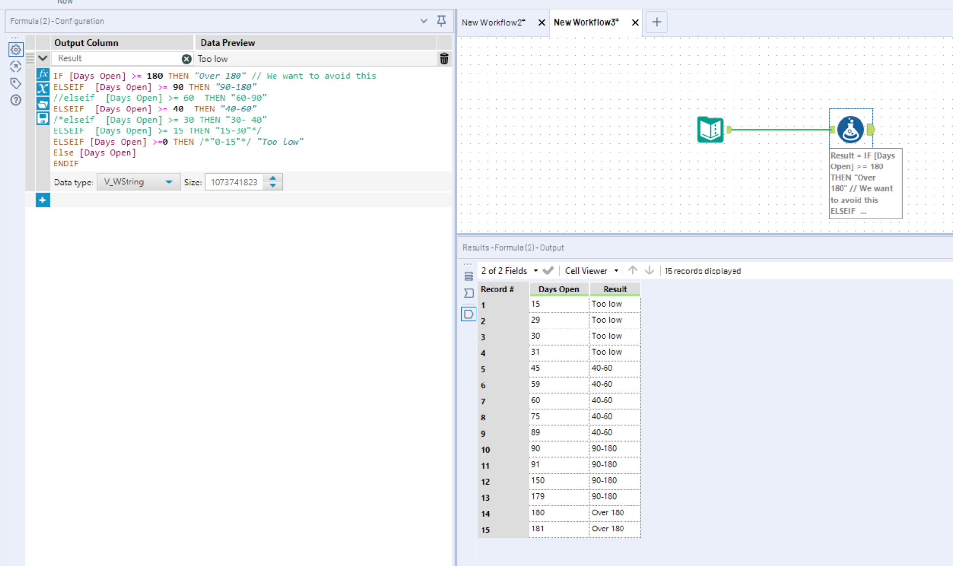 Adding Comments to Expressions - Alteryx Community