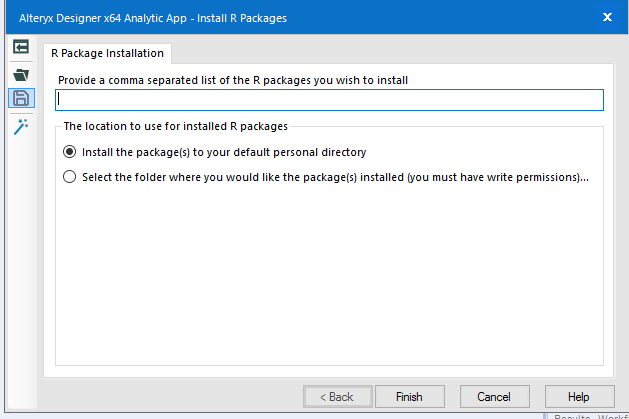 Solved: Install R Packages in Alteryx Deisgner - Alteryx