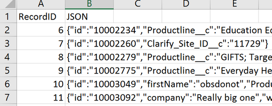 Solved: Output JSON to CSV adds unwanted quotes - Alteryx