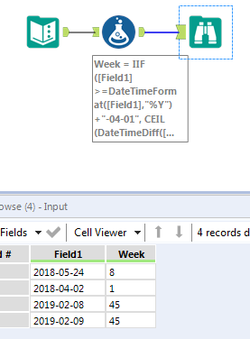 Solved: Get Custom Week Number from Date - Alteryx Community