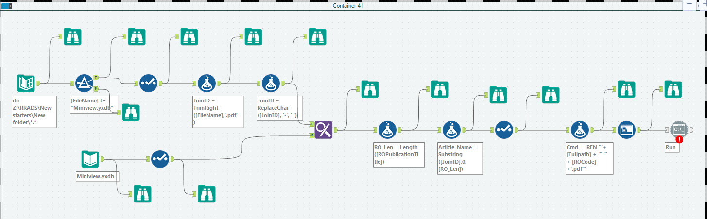 Solved: Renaming files at system level - Alteryx Community