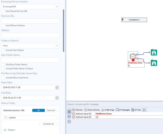 Outlook Input tool Created with the Alteryx SDK - Page 7 - Alteryx