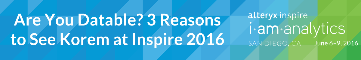 Are You Datable? 3 Reasons to See Korem at Inspire 2016