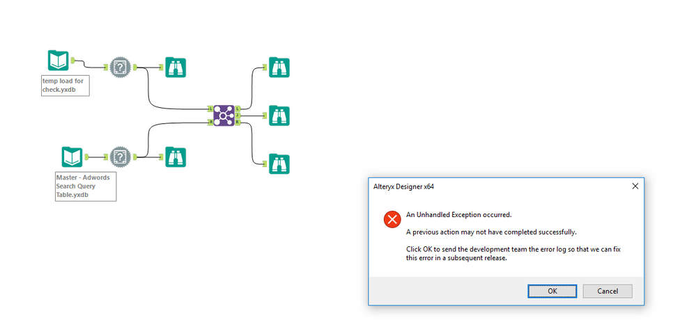 unhandled error - alteryx.PNG