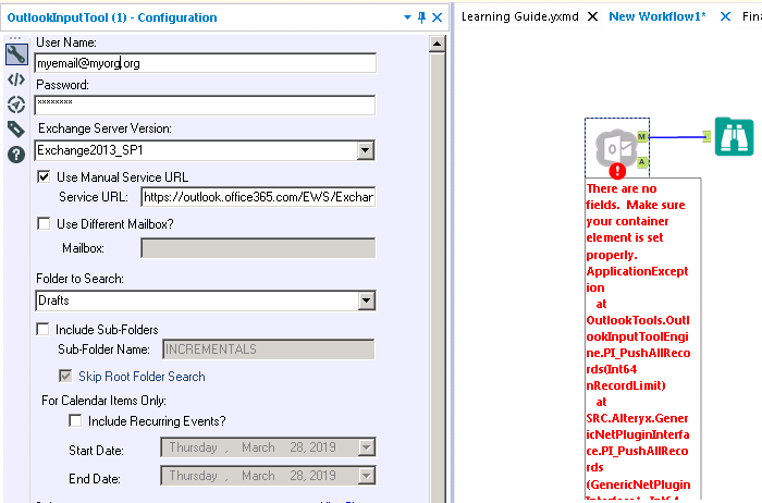 Outlook Input tool Created with the Alteryx SDK - Page 7