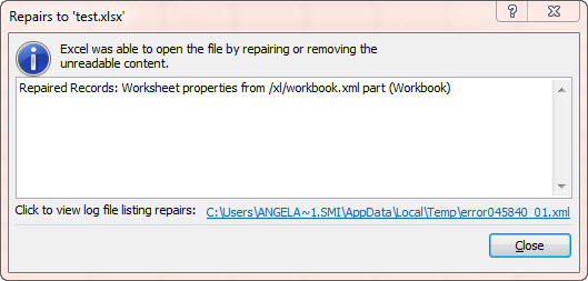 Solved: OutPut  xlsx format tab name garbage - Alteryx Community