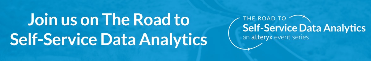 Join us on The Road to Self-Service Data Analytics