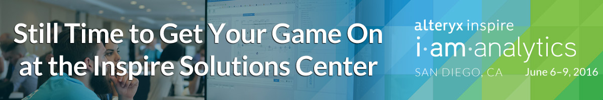 Still Time to Get Your Game On at the Inspire Solutions Center