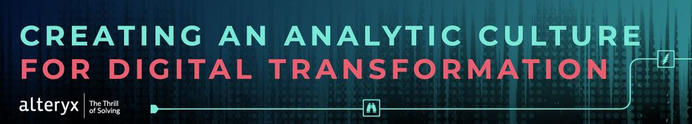 Creating an Analytic Culture for Digital Transformation