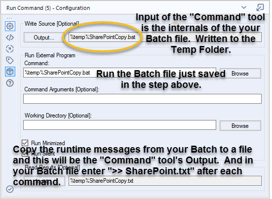 Solved: Export results to bat file with new lines - Alteryx Community