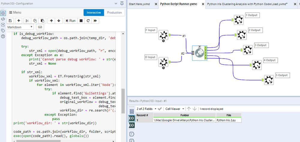 Python Code Tool Script Runner Macro (Code Injecti