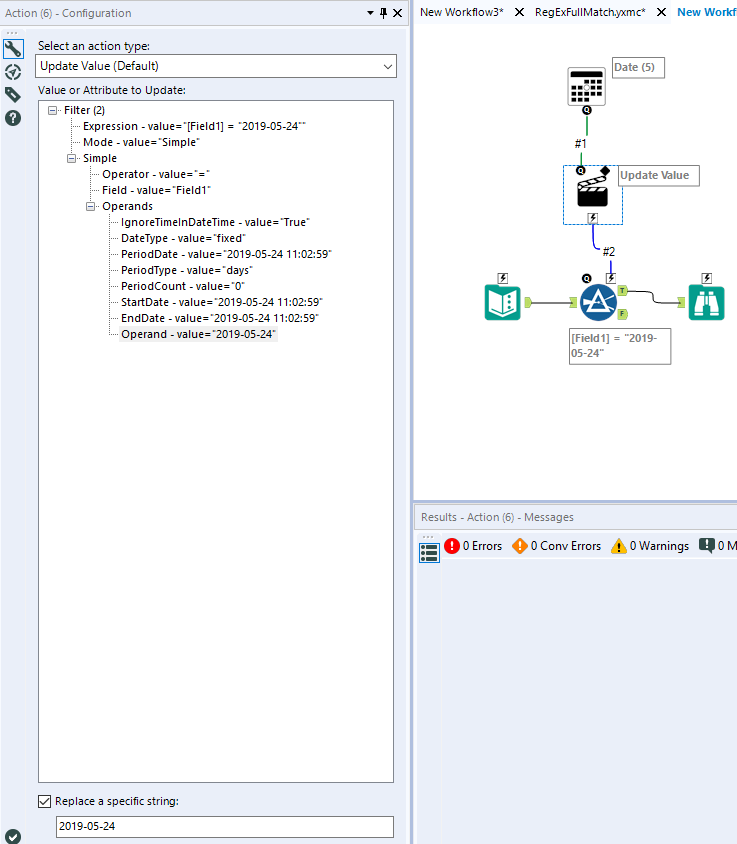 Date Interface tool and Date Filter - Alteryx Community