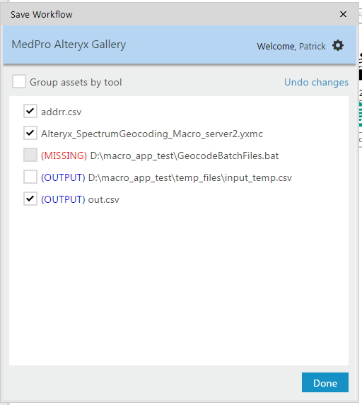 Solved: Run Command tool in a Gallery App - Alteryx Community