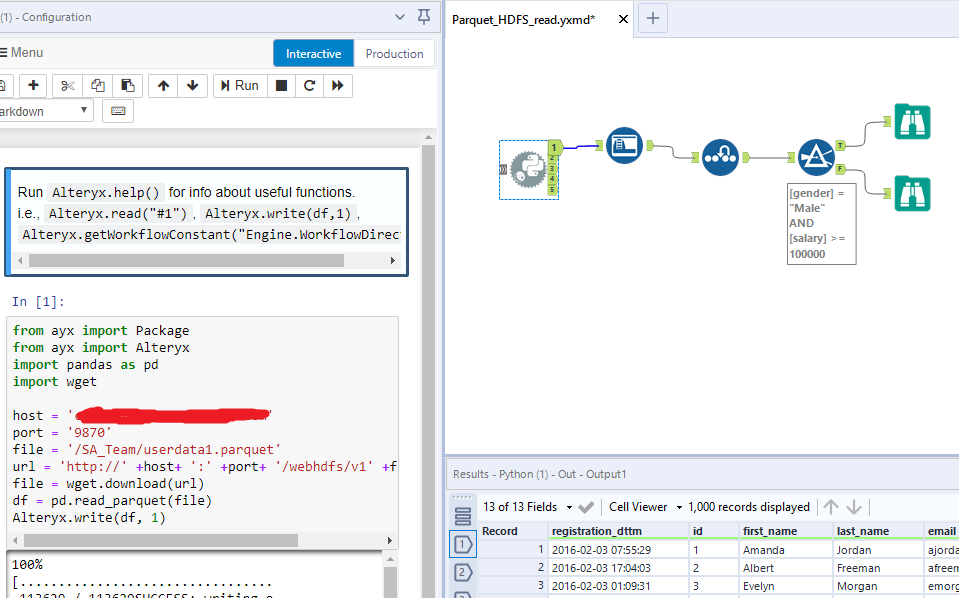 Alteryx Download Csv File From Website