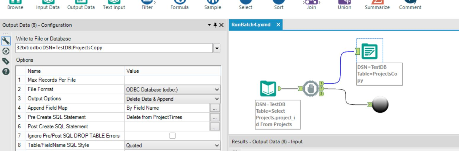 Solved Can You Execute Generic Sql Commands Alteryx Community Datatool System 3 Wiring Diagram