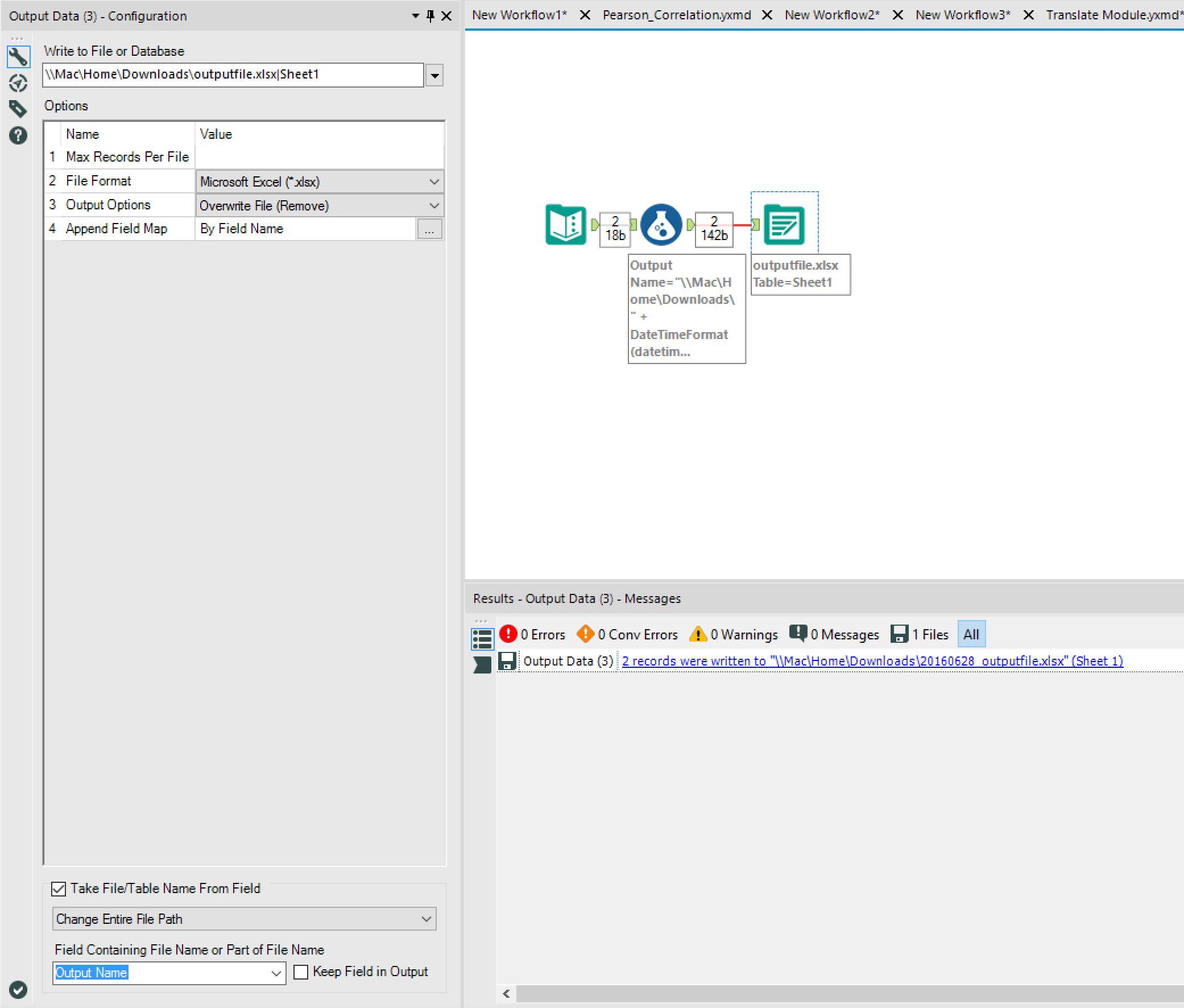 Solved: Datestamp to Ouput File name - Alteryx Community