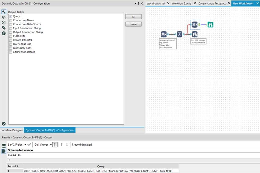 Solved: Converting a Workflow to SQL - Alteryx Community