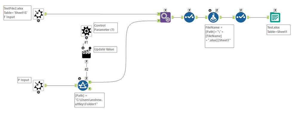 new to Alteryx and need a macro workflow on copy 1    - Alteryx