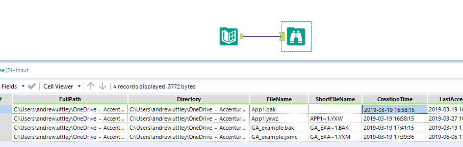 Solved: Add File Creation Date as Column From Directory In