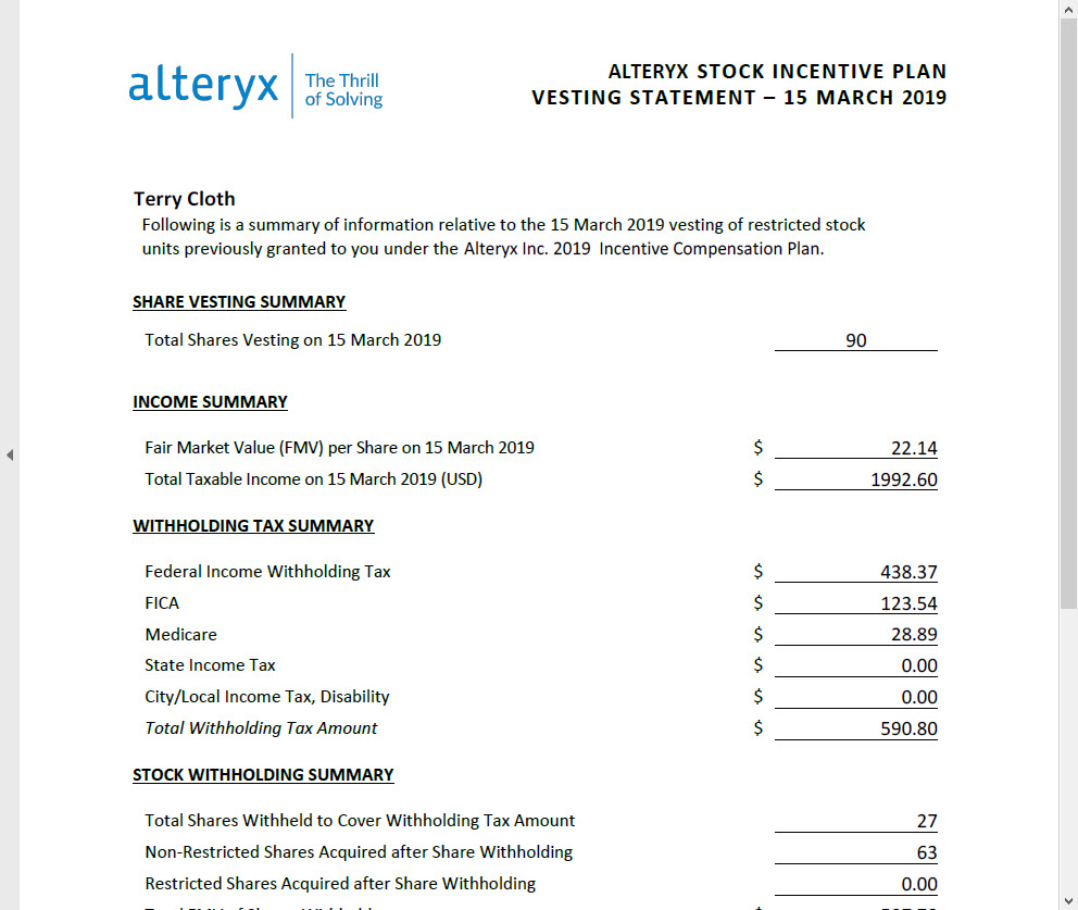 A quick tutorial for getting Alteryx data written