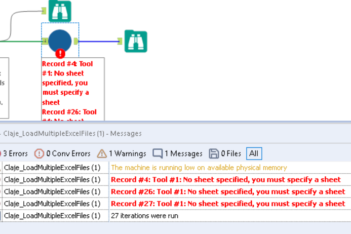 Solved: Input multiple xlsx files and union them - Alteryx