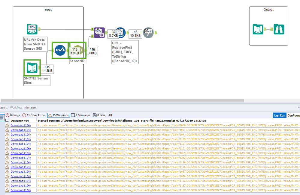 completely and utterly broken Alteryx Designer... I am waiting for a software update as doing challenges is as of now impossible