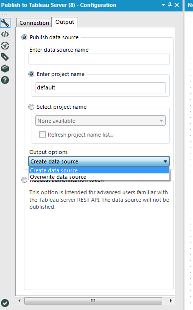 Solved: Publish to Tableau Server not sending tde file to