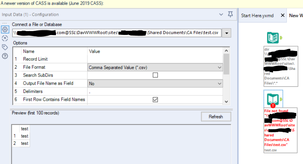 Solved: Download excel file from Sharepoint - Alteryx Community