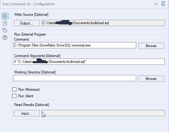 Alteryx SnowSQL macro to quickly load data into Sn    - Alteryx