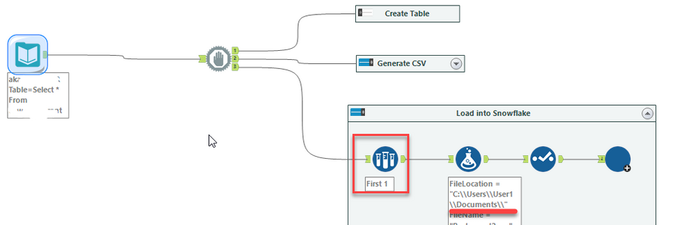 Alteryx SnowSQL macro to quickly load data into Sn