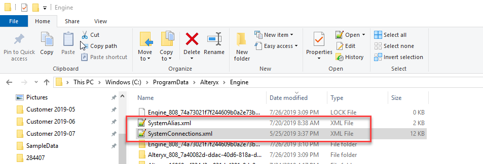 Files with connection strings.png