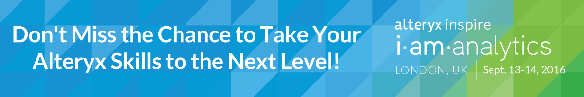 Don't Miss the Chance to Take Your Alteryx Skills to the Next Level!