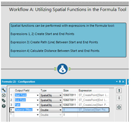 Spatial Functions with the Formula Tool - Alteryx Community formule ...