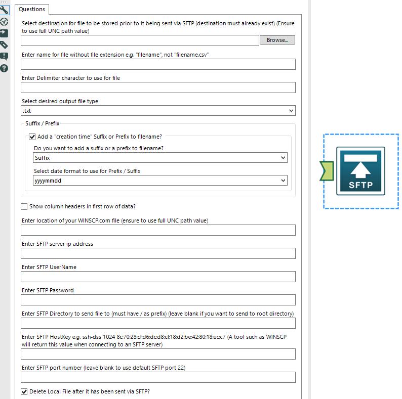 Solved: ZIP and SFTP - ToFile / ToFileToZIP / ToFileToSFTP