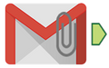 Gmail Attachment Input Tool Icon