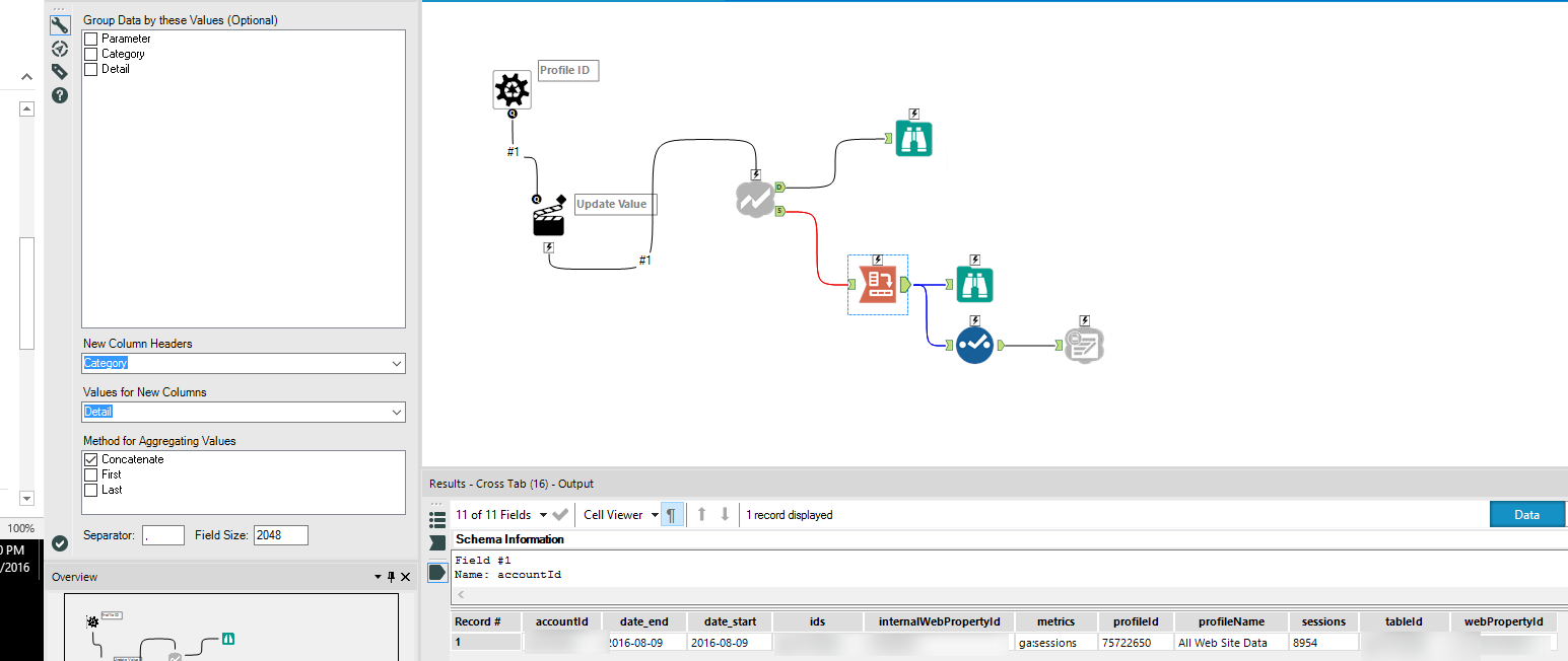Problem With The New Google Analytics Connector Alteryx Community As For Result We Have This Our Final Output 3 I Created A Workflow Which Leverages That Macro Per Your Instrcutions