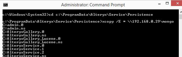 Migrating and Scaling MongoDB on Alteryx Server - Alteryx