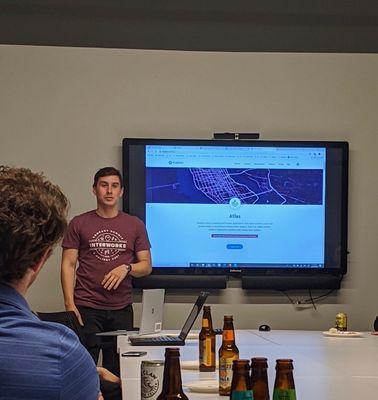Ryan dropping some Mapbox API knowledge