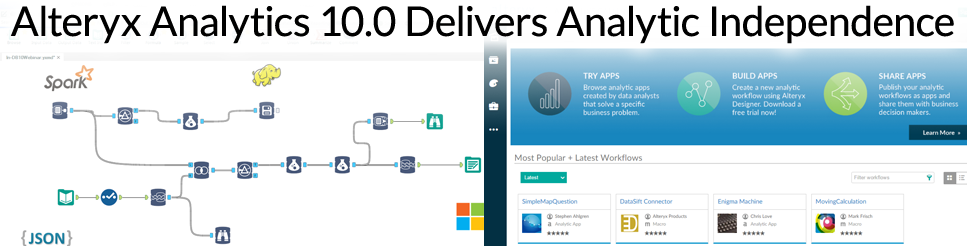Alteryx Analytics 10.0 Delivers Analytic Independence